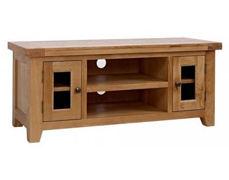 Rustic Grange Devon Oak Large TV Stand