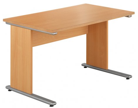 Urban 1380 Home Office Workstation in Beech