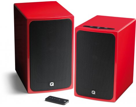 Q Acoustics Q BT3 Wireless HI-FI - Gloss Red