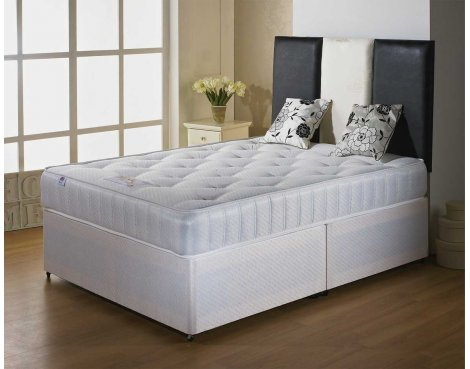Luxan Classic Double Size Bed Set - With Headboard - 2 Drawers