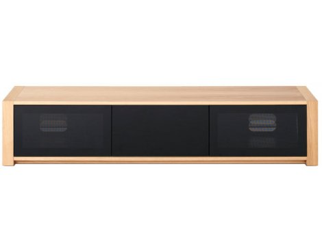 "Techlink Modular M2LO Screens up to 84"" - Oak/Black"