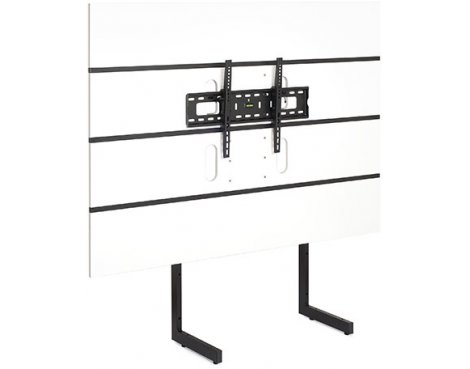 "Techlink Modular M3WT Screens up to 65"" - White/Black"