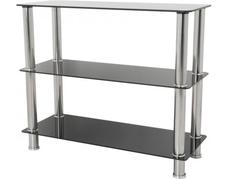 AVF S13 Wide 3 Shelf - Black