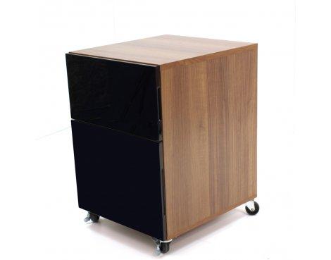 Alphason Juo Designer Pedestal - Black
