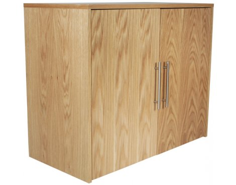 Alphason Oakwood Veneered Cupboard