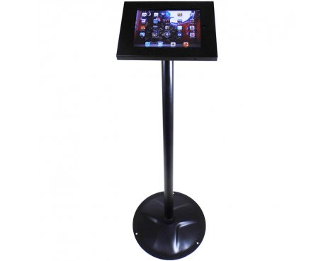 ValuBrackets Regular Anti-Theft iPad Floor Stand Mount - Black