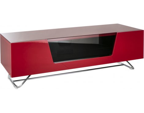 "Alphason Chromium Red TV Stand for up to 60"" TVs"