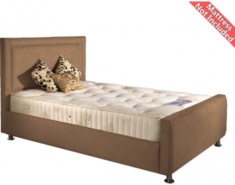 Valufurniture Calverton Bed Frame - Mink - Small Double 4ft