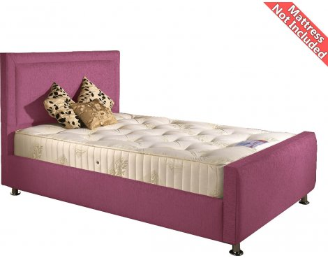 Valufurniture Calverton Bed Frame - Pink - Small Double 4ft