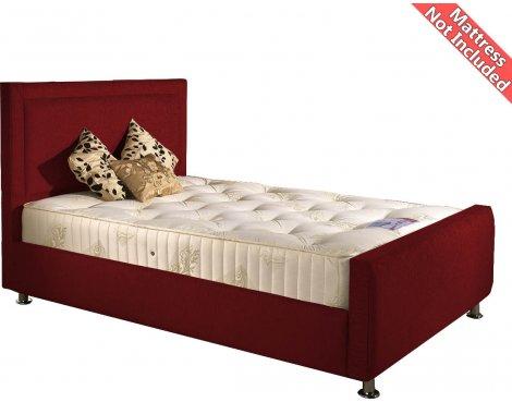 Valufurniture Calverton Bed Frame - Raspberry - Super King 6ft