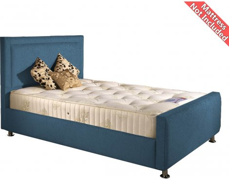 Valufurniture Calverton Bed Frame - Teal - Small Single 2ft6