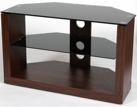ValuFurniture M Series 800mm Walnut TV Stand for up to 42""