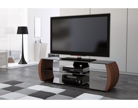ValuFurniture C Series 1360mm Walnut TV Stand for up to 60""