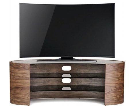 "Tom Schneider Elliptical 1400 TV Stand for up to 70\"" - Walnut"