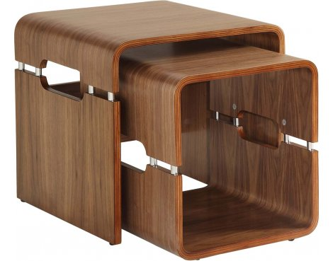 Jual Lounge JF706 Nest of Tables - Walnut
