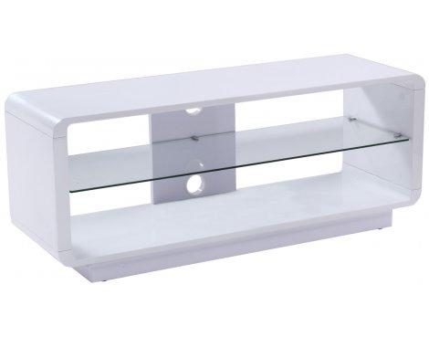 Alphason Luna ADLU1200-WHT High Gloss White TV Stand