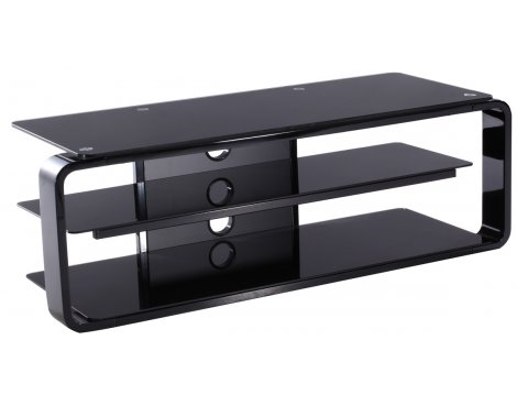 Alphason Lithium ADL1150-BLK Black TV Stand
