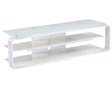 Alphason Lithium ADL1400-WHT White TV Stand