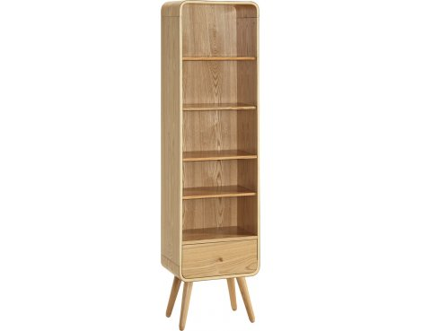 Jual Home Office PC703 Tall Bookcase - Ash