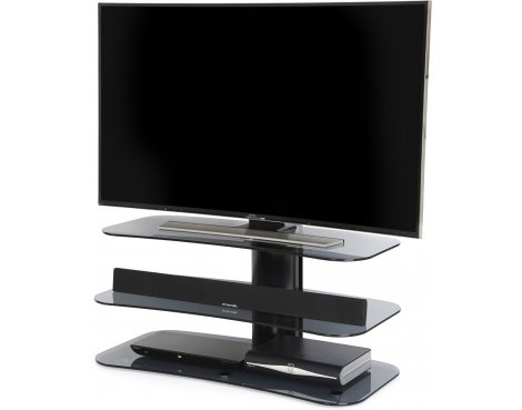 "Off The Wall Arc 1000 Flat Panel TV Stand for up to 55"" - Grey"