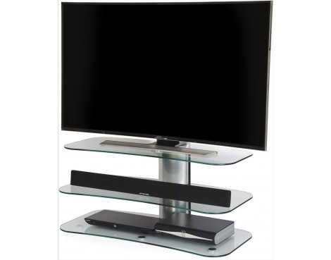 "Off The Wall Arc 1000 Flat Panel TV Stand for up to 55"" - Silver"