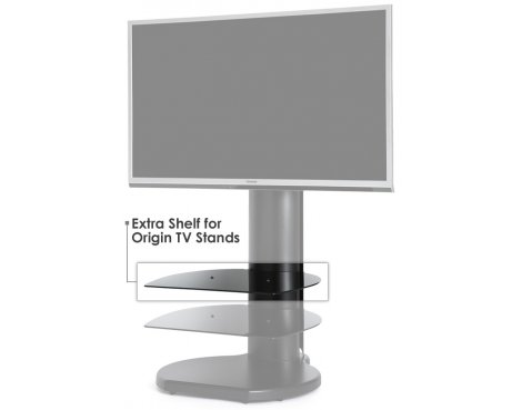 Extra Glass Shelf for Origin TV Stands