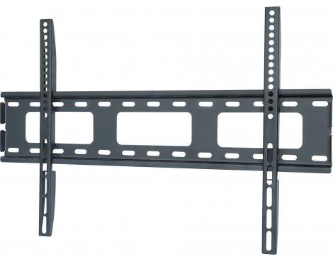 "UM105M Black Universal Super Thin Fixed Wall Mount Bracket up to 70\"""