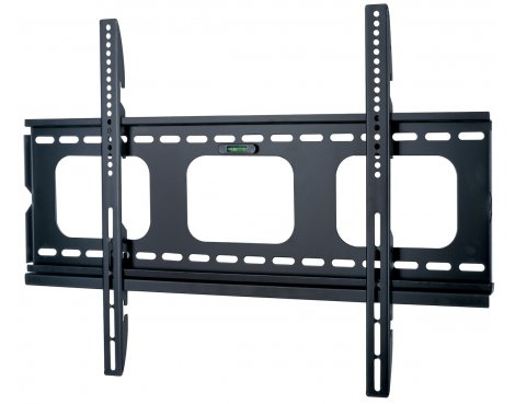 UM105M Black Universal Super Thin Fixed Wall Mount Bracket up to 65""