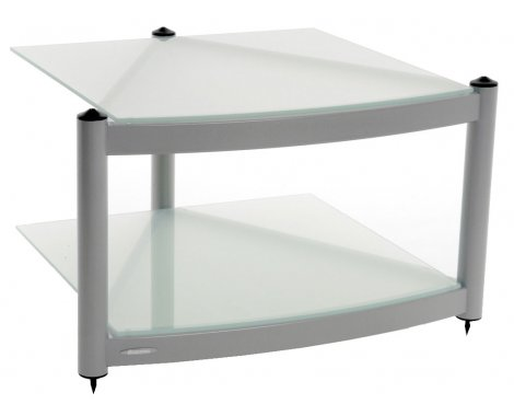 Equinox Silver 2 Shelf R.S HiFi Stand