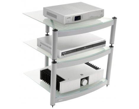 Equinox Silver 3 Shelf R.S HiFi Stand