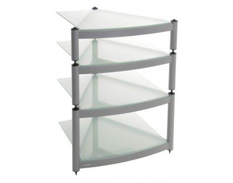 Equinox Silver 4 Shelf R.S HiFi Stand