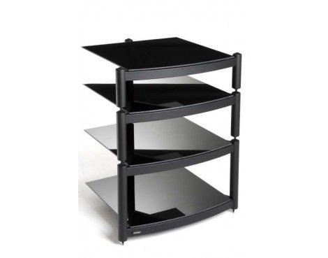 Equinox Black 4 Shelf R.S HiFi Stand
