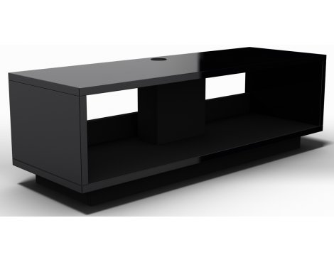 Schnepel VariC L 2.0 Gloss Black Open TV Stand