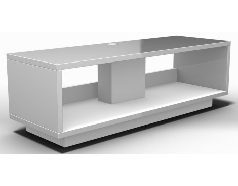 Schnepel VariC L 2.0 Matte White Open TV Stand