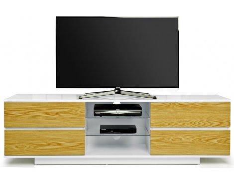 MDA Avitus White and Oak TV Cabinet