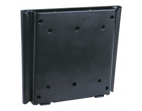 """UM110 Black Flat Fixed LCD Wall Mount Plate 10\"""" - 30\"""" TV\'s"""
