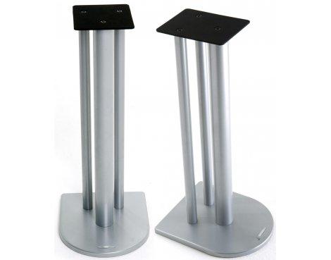 Atacama Nexus Speaker Stands in Silver - 700m