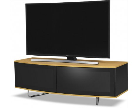 MDA Designs Caru TV Stand For Up To 65 TVs Oak