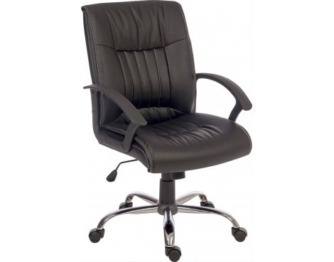 Teknik Milan Executive Desk Armchair - Black