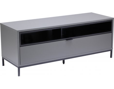 "Alphason Chaplin 1135 TV Stand for TVs up to 60"" - Charcoal"