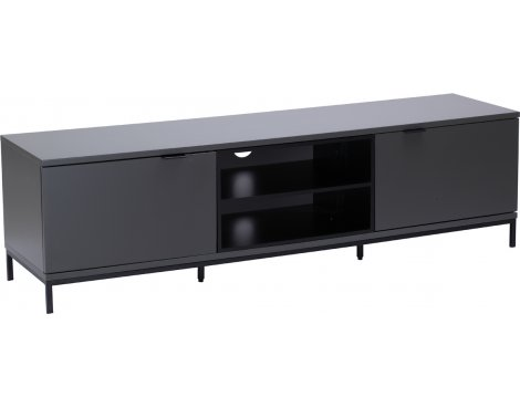 "Alphason Chaplin 1600 TV Stand for TVs up to 72"" - Charcoal"