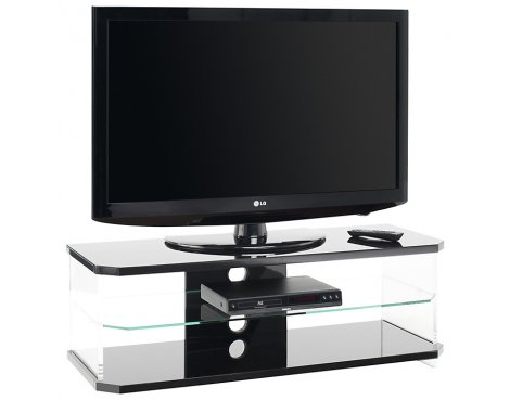 Techlink Air Black TV Stand For TVs up to 50""