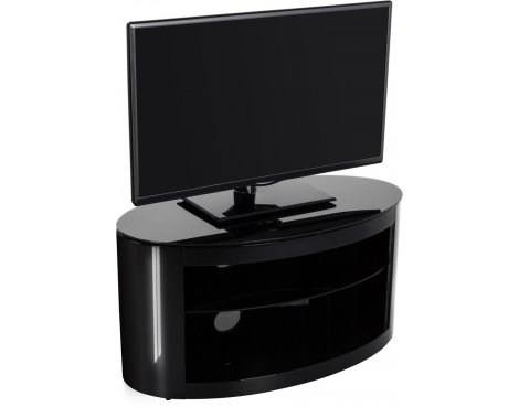 AVF Buckingham FS800BUCB Black TV Stand for up to 37""