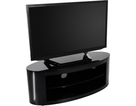 AVF Buckingham FS1100BUCSB Black TV Stand for up to 55""