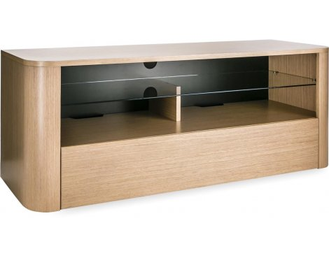 "Alphason Hugo 1260 TV Stand for TVs up to 60"" - Light Oak"