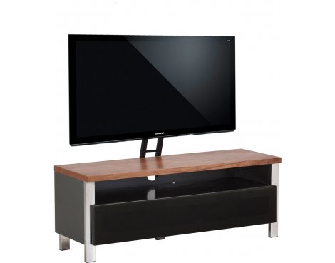 "Alphason Regent 1200 Cantilever Stand for TVs up to 65"" - Walnut"
