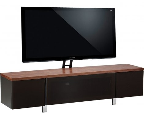 "Alphason Regent 1800 Cantilever Stand for TVs up to 72"" - Walnut"