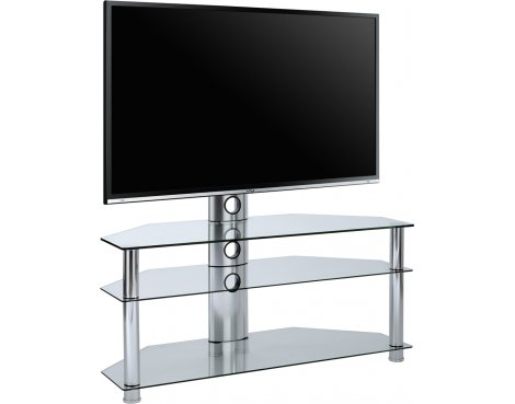 MMT SCC-61 Clear Cantilever TV Stand