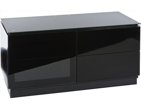 MMT Casino 1100 Black Gloss TV Cabinet for TVs up to 50""
