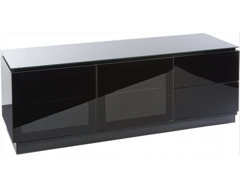MMT Casino 1350 Black Gloss TV Cabinet for TVs up to 55""